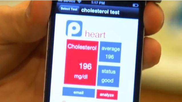 Cholesterol test تست کلسترول
