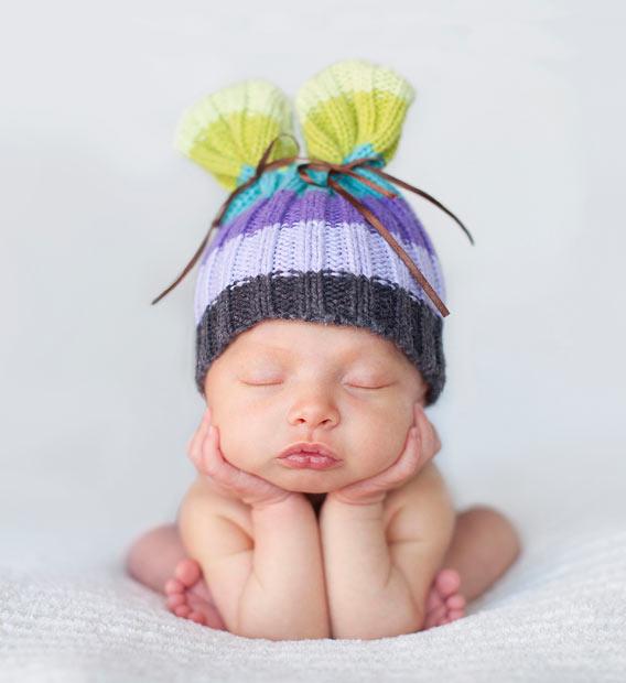 baby-sleeping کودک خوابیده