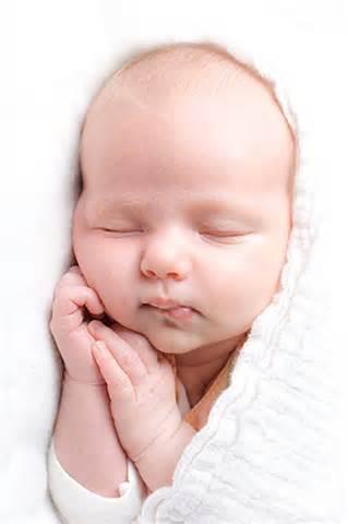 نوزاد خوابیده sleep baby