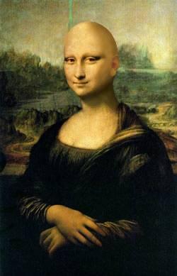مزاح با خانم مونالیزا